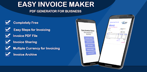 Easy Invoice Maker PDF Generator For Business Apps On Google Play - Easy invoice maker
