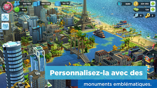 SimCity BuildIt captures d'u00e9cran 2