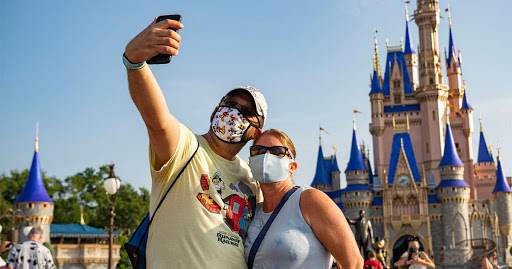 Disney World No Longer Requires Guests To Wear Masks Outdoors