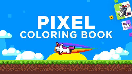 UNICORN Color by Number | Pixel Art Coloring Games screenshot 5