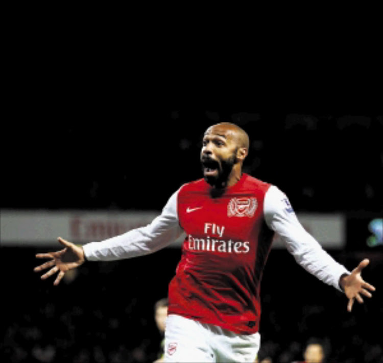 Former France and Arsenal striker Thierry Henry.