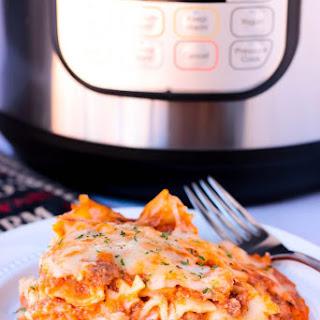 Easy Instant Pot Lasagna Pasta Recipe