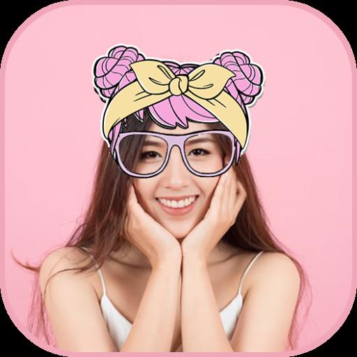 Kawaii Camera: Cute Photo Editor, Avatar Maker App Icon
