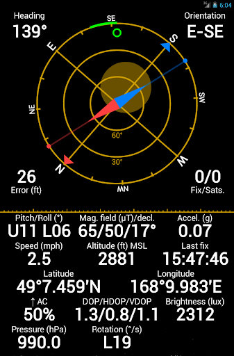 GPS Status & Toolbox screenshot 10