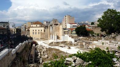 Photo: Hadrian's Library complex