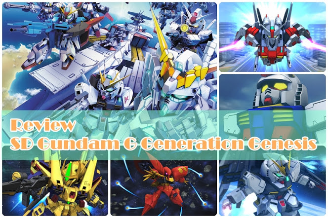[Review] SD Gundam G Generation Genesis