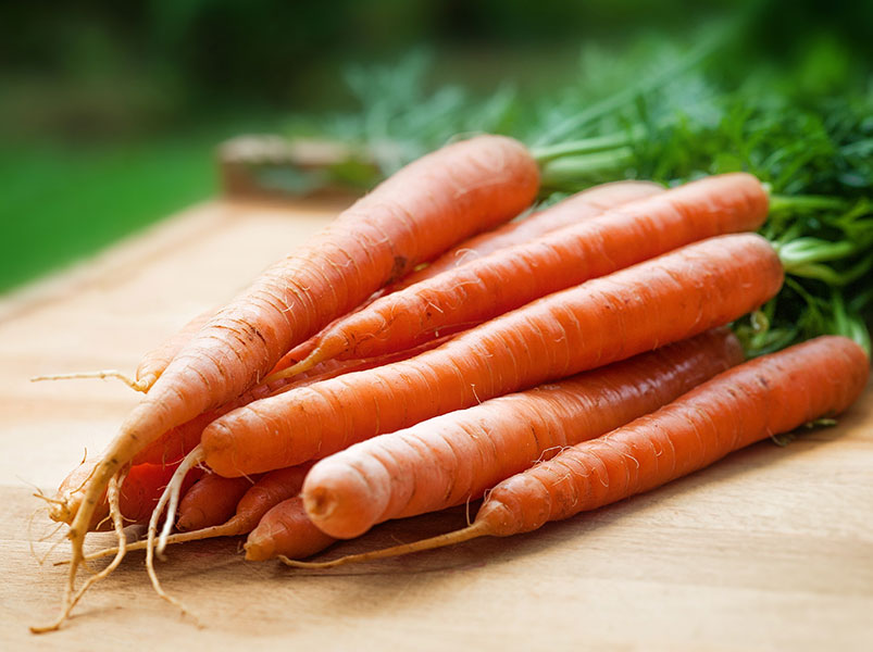 Carrots and ranch dressing make a delicious and nutritious snack that fights hunger.