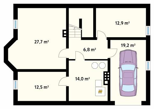 Goździk 2 CE - Rzut piwnicy