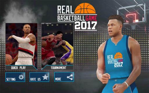 Real Basketball Game 2017