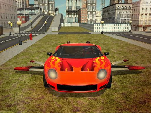 Free Flying Racing Car Driving 1.1 screenshots 7