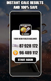 Free Uc Cash & Battle Points Calc For Pubgs Mobile Screenshot