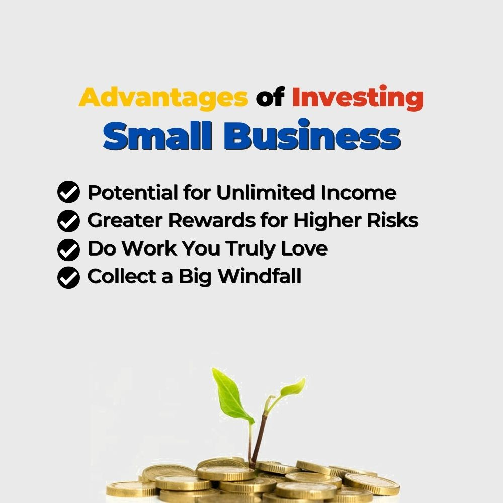 Advantages of Investing in Small Business- Filipino Homes