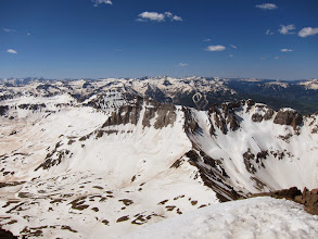 Photo: Not bad views from atop 14,150ft Mt Sneffels. Took 5hrs to get up.