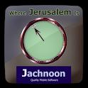 מצפן יהודי Where Jerusalem Is icon
