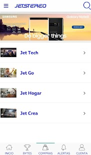 Jetstereo - náhled
