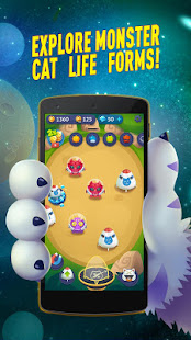 Space Cat Evolution: Kitty collecting in galaxy 3