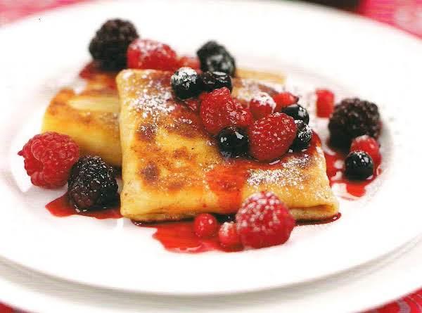 Summer Berry Blintz Recipe