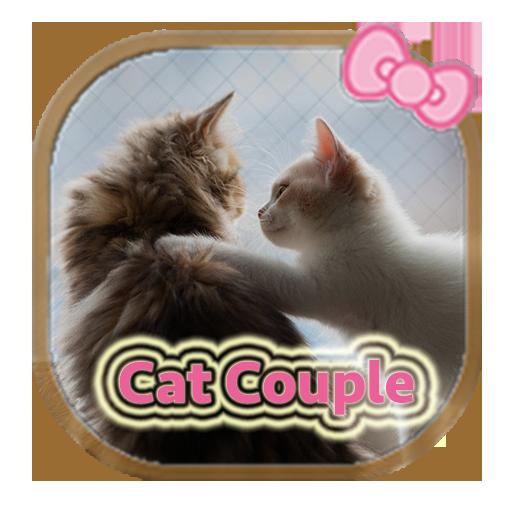猫のカップルのテーマ 漫畫 App LOGO-APP開箱王