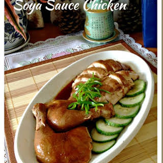 Cantonese Soya Sauce Chicken (粤式豉油鸡, 酱油鸡).