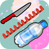 Flippy Flappy Knife Frontier Space Bottle Extreme