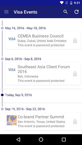 Visa Events