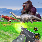 Animal Safari Hunter:Dino Shooter Free Android APK Download Free By Laar Apps & Games
