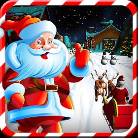 Санта-Клаус санях Трюки