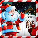 Santa Claus Sleigh Ride Stunts icon