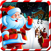 Santa Claus Sleigh Ride Stunts
