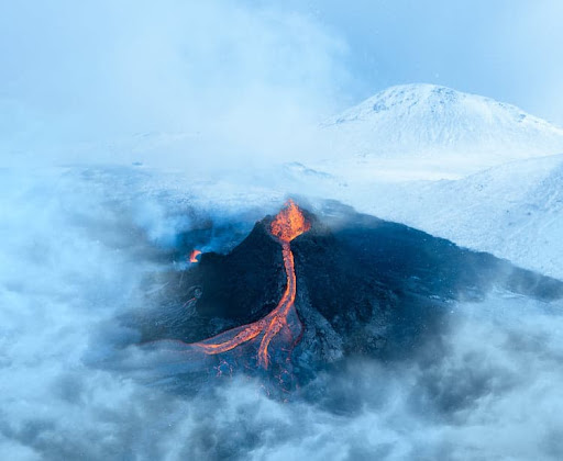 Mesmerizing Short Film Captures Rare Footage of a Volcanic Eruption in Iceland