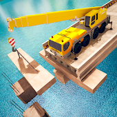 Bridge Building Simulator: Road Construction Games Android APK Download Free By 2D Entertainment