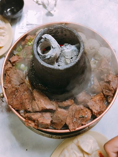 必點的牛肉丸子火鍋🍲 好吃😋