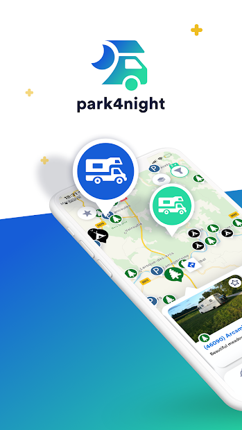 park4night - Motorhome camper Android App Screenshot