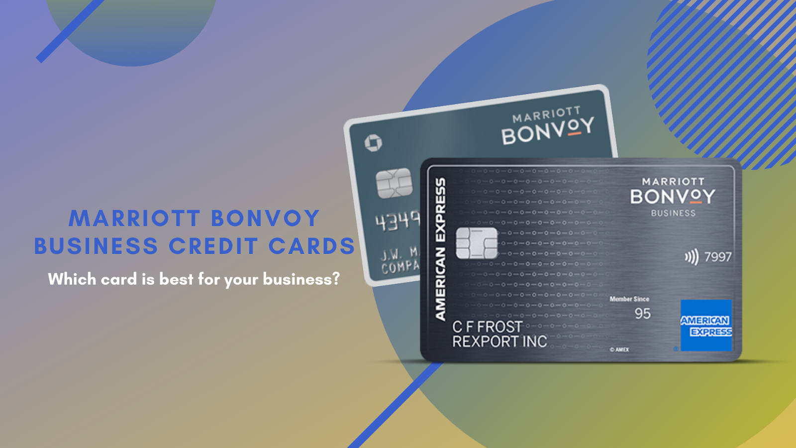 marriott bonvoy business credit cards