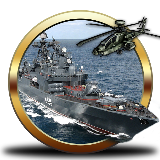 Navy Gunship Shooting War 3D 動作 App LOGO-APP試玩