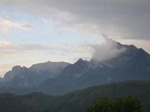 Photo: Najwyższe pasmo Alp Apuańskich z Monte Pisanino 1947 m n.p.m. (szczyt w chmurze)
