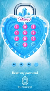 Winter Princess Diary (with lock or fingerprint) 3