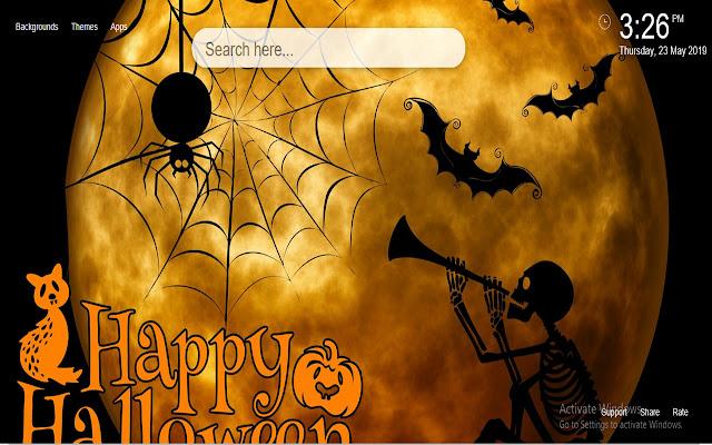 Halloween HD Wallpapers New Tab