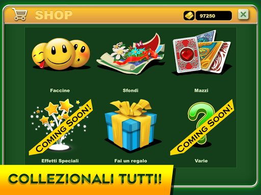 Burraco e Pinelle Online apkpoly screenshots 9