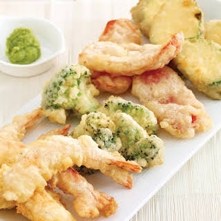 Shrimp and Vegetable Tempura.