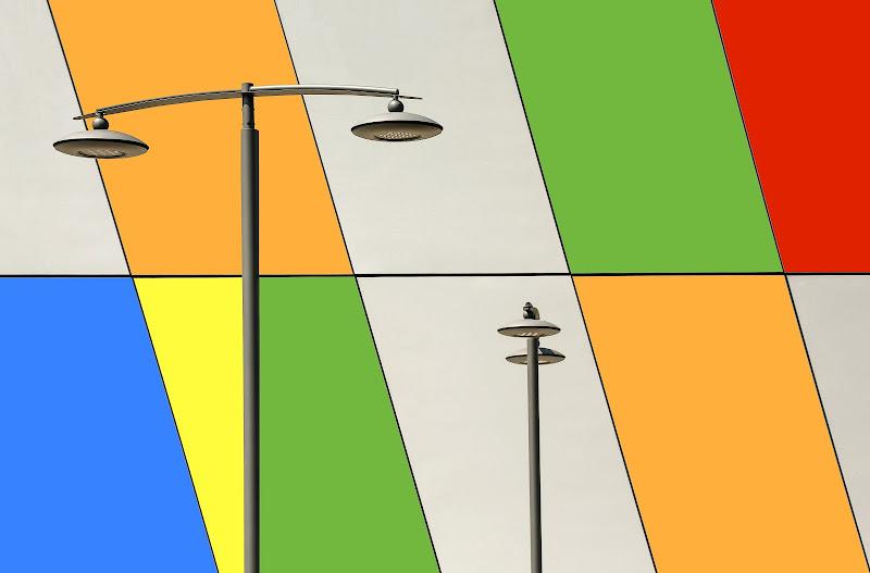 The street lamps di Dan57
