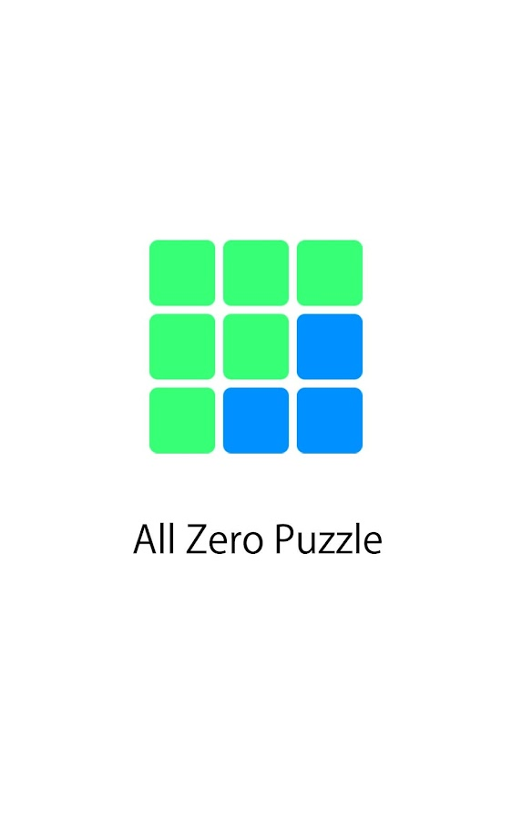 All Zero Puzzle- screenshot