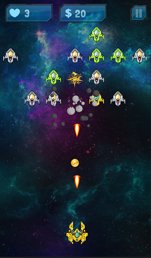 Galaxy War : Space Invaders