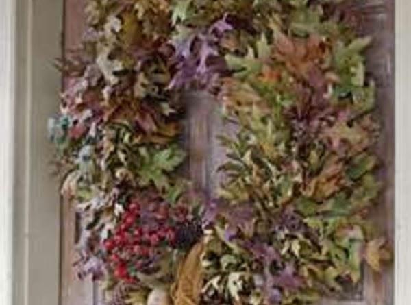 The Gratitude Wreath Recipe
