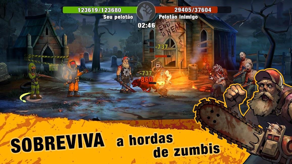 Zero City Zombie Shelter Survival Apk Mod (Alto Dano) 2