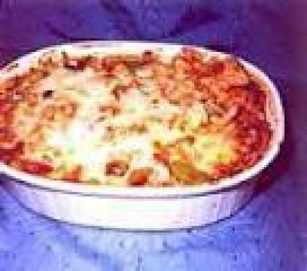 Chicken Cacciatore Casserole Recipe