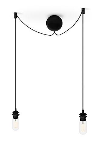 Cannonball black cluster 2 Ø 12cm L 2,5 m (Retur exemplar)