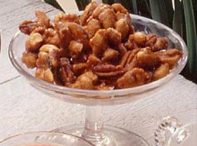 Cardamom Spiced Nuts Recipe