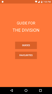 Guide for The Division - náhled