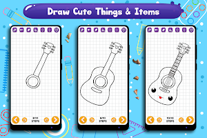 Learn to Draw Cute Things & Items